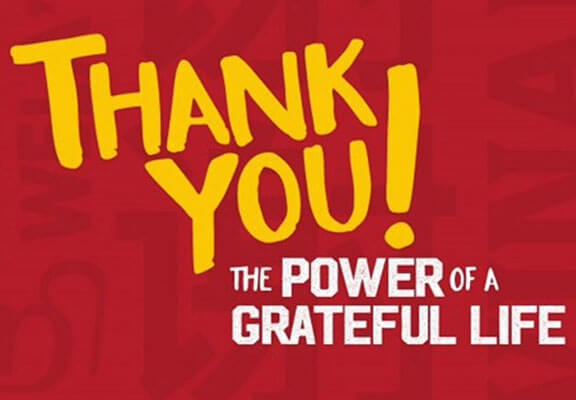Thank You – The Power of a Grateful Life